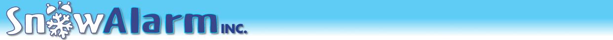 SnowAlarm, Inc. Logo SnowAlarm, Inc.'s Web hosting and Design